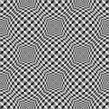 Design seamless warped diamond trellised pattern