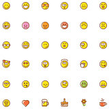 Smiley icon set
