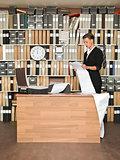 Reading Businesswoman