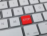 Stop key