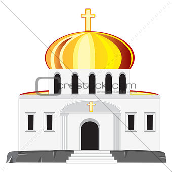 Church with dome