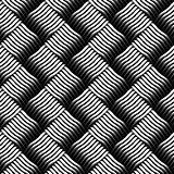 Seamless checked interlacing texture.