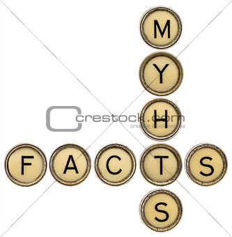 facts and myths crossword