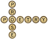 poetry and prose crossword