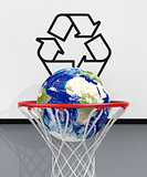 concept of ecology and recycling