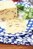 cheese with mushrooms