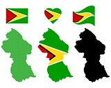 map Guyana