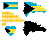 Map of The Bahamas