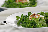 Fried Goat Cheese And Arugula Salad