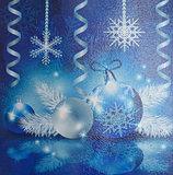 Snowflakes, balls, streamers