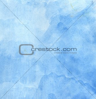 Grunge Blue Painted Texture