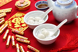 tang yuan, yuan xian,chinese new year food
