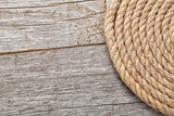 Roll of ship rope