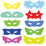 set of masks