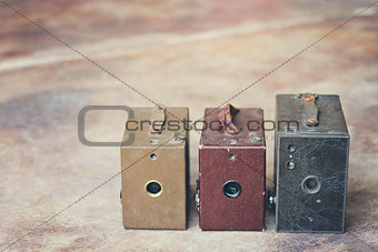 3 Antique Cameras