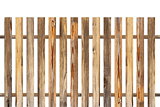 wood fence made from old planks