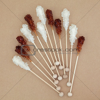Crystal Sugar Lollipops