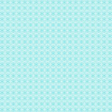 Winter blue pattern background with snowflakes