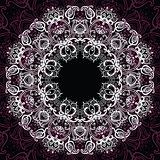 Mandala. Sun pattern.
