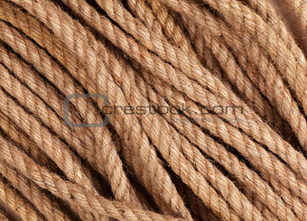 Old marine rope