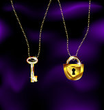 jewel lock and key
