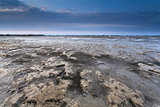 mud at low tide on North sea coast