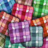 Plaid Colorful Cushions