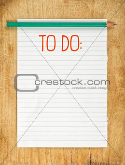 Blank To Do List
