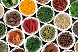 Herb and Spice Food Selection