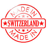 Made in Switzerland red seal