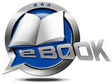 E-Book - Metallic Speech Bubble