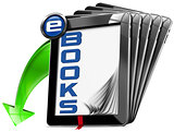 E-Books Symbol with Tablet Computers