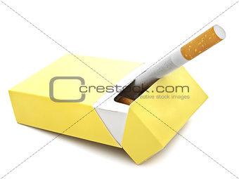Cigarette In Box