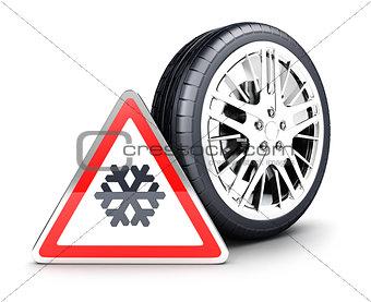 3d snow wheel