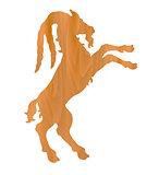 vector zodiac sign - Goat Year