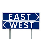 East or West