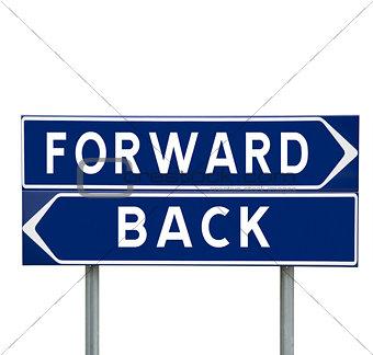Forward or Back