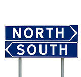 North or South