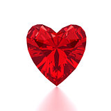 Heart Shaped Red Diamond