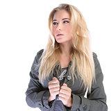 Attractive stylish woman