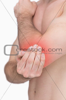 Pain in an elbow