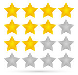 Star rating system (4 stars)