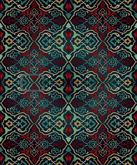 artistic ottoman seamless pattern series