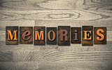 Memories Wooden Letterpress Concept