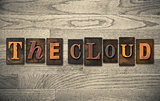 The Cloud Wooden Letterpress Concept