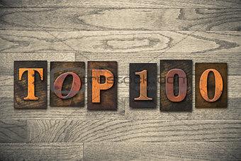 Top 100 Concept Wooden Letterpress Type