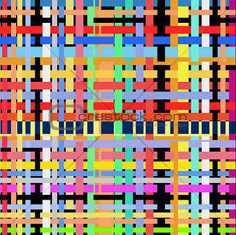 abstraction the colorful background