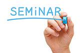 Seminar Blue Marker