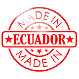 Made in Ecuador red seal