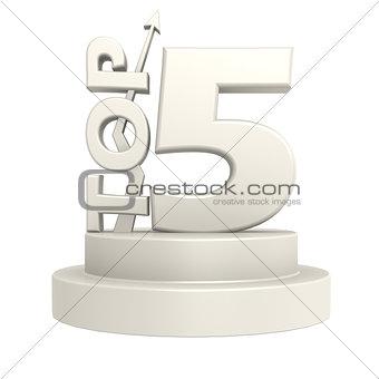 Top five white